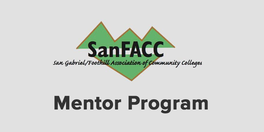 The SanFACC Mentor Program - learn more by following this link