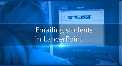 Emailing Students