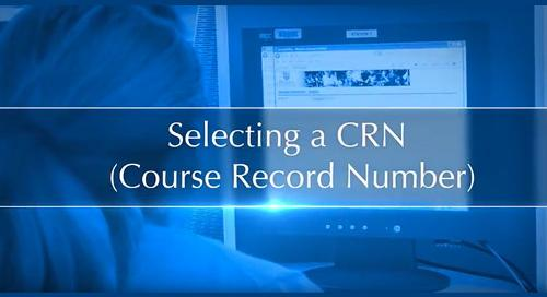 Selecting a CRN