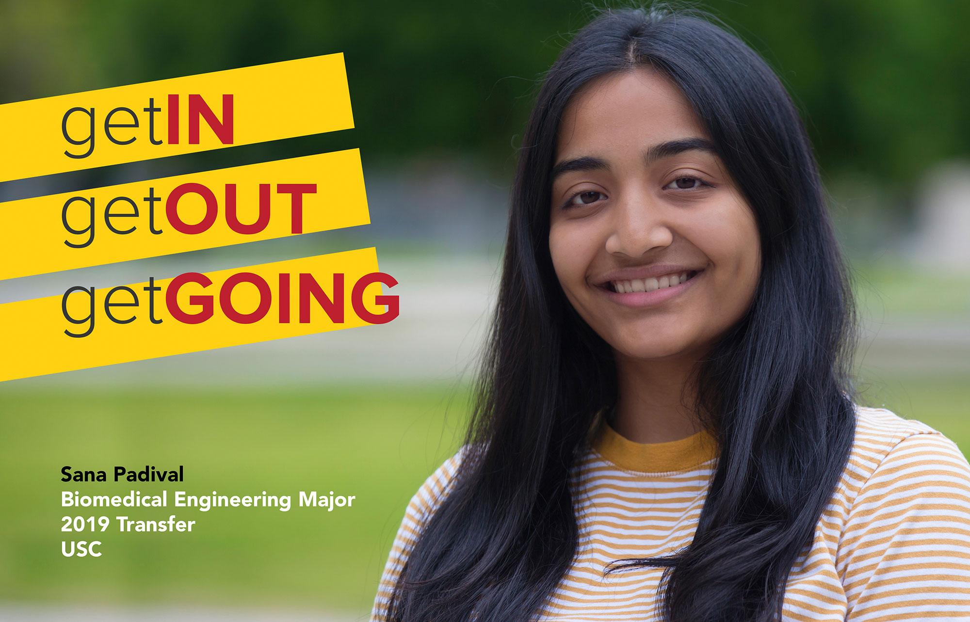 Sana Padival is a Biomedical Engineering major that transferred to USC in 2019.