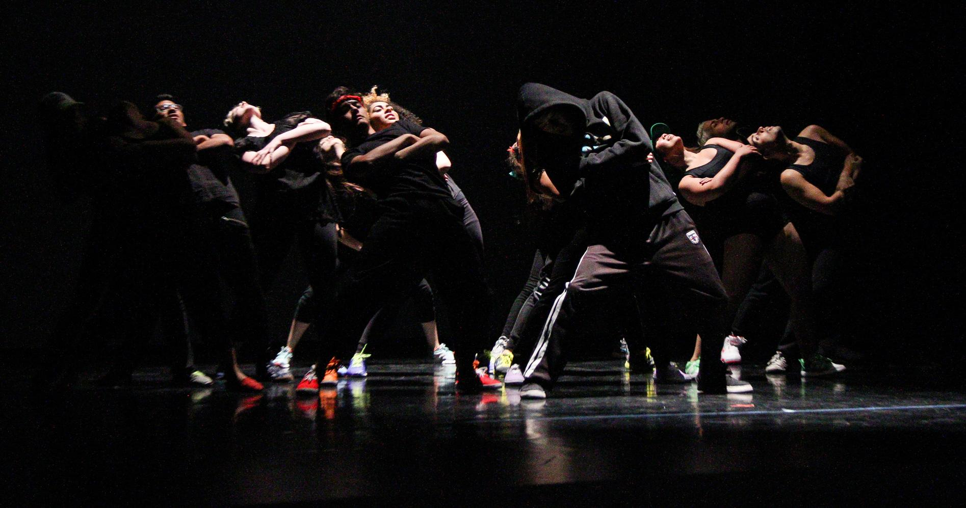 Dance students perform in their annual dance recital at Pasadena City College.