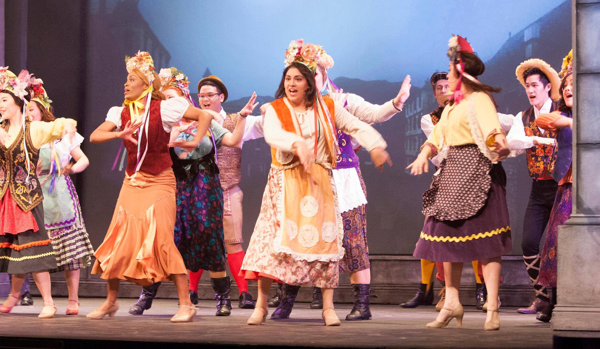 Theater Arts students perform in the annual musical