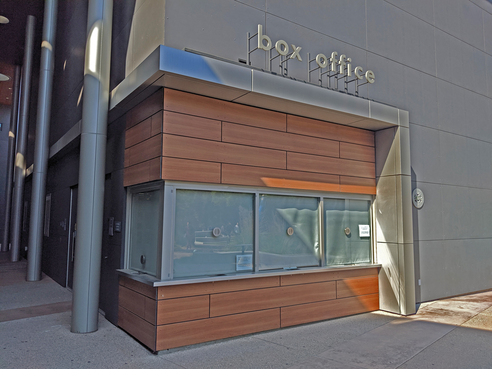 The box office at the CA Theatre