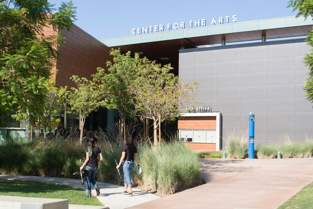 The front of the Center for the Arts