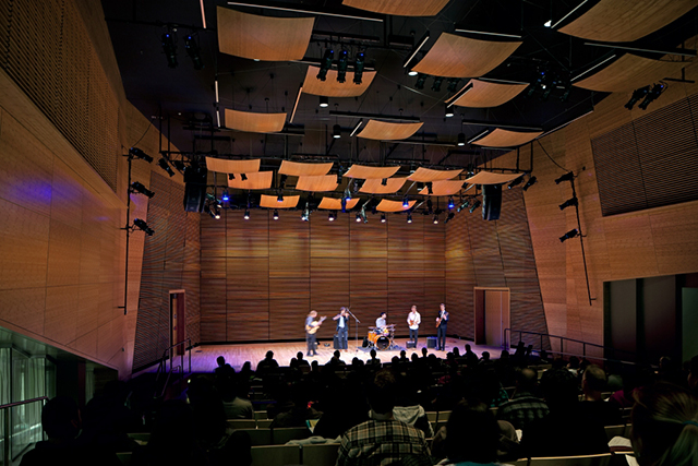 People performing in the Westerbeck Recital Hall