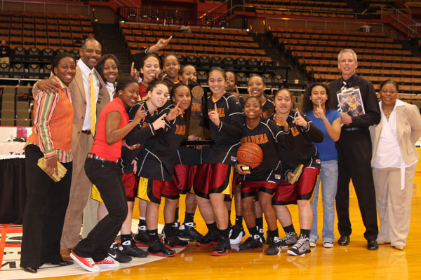 Womens Basketball 2009 State Champions