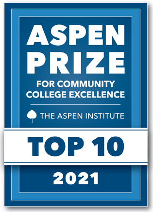 Aspen Prize for Community College Excellent. Top 10, 2021