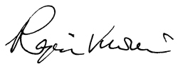 Signature of Dr. Rajen Vurdien