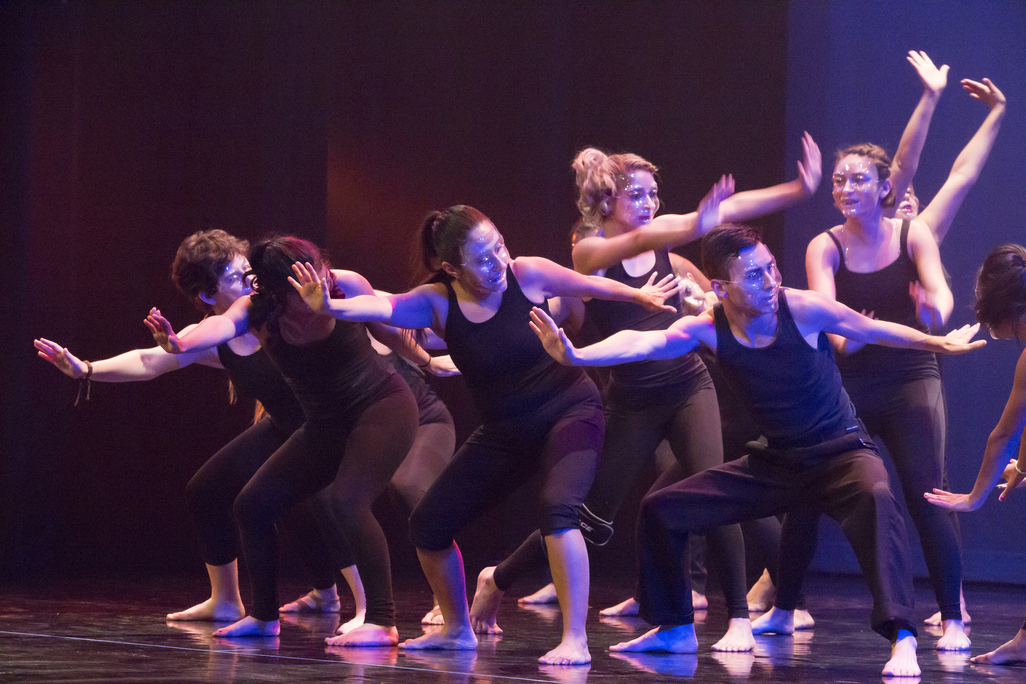 Dance students perform in their annual recital