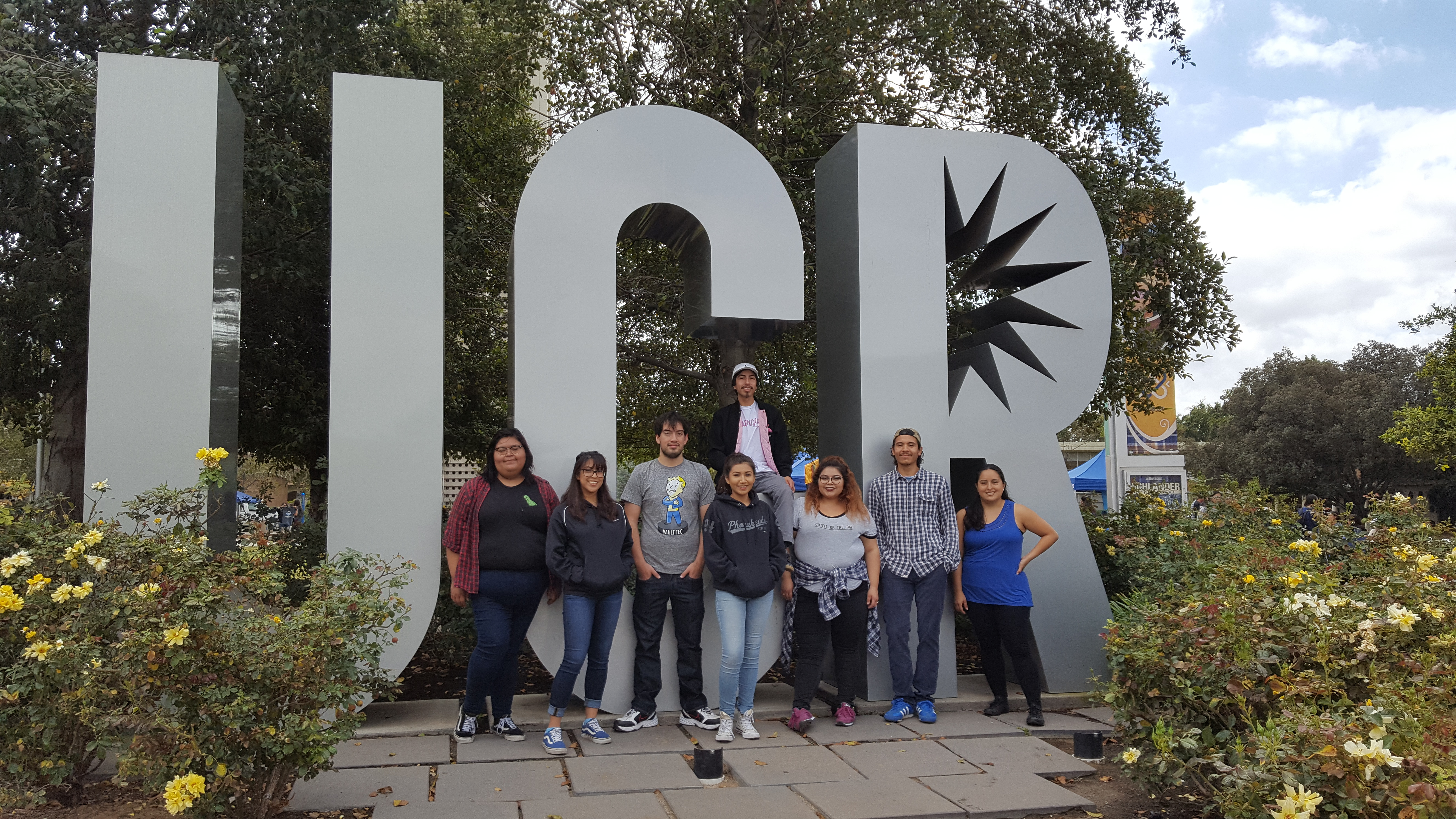 PASS students visit UCR