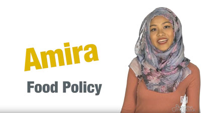 Food policy video