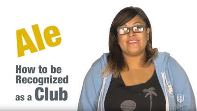 How to be recognized as a club video