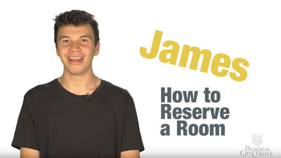 How to reserve a room video