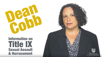Information on Title IX Sexual Assault & Harrasment