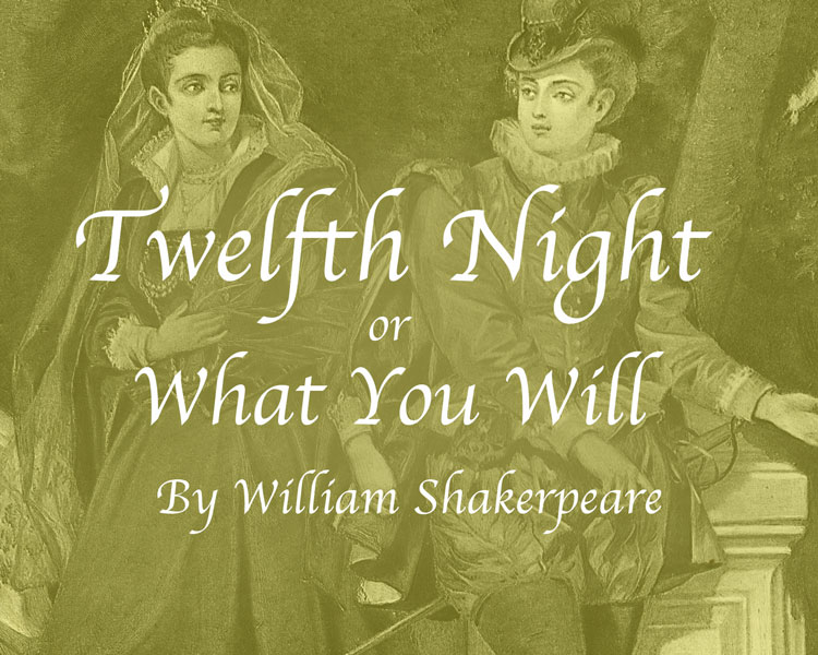 Summer Production of Twelfth Night or What You Will
