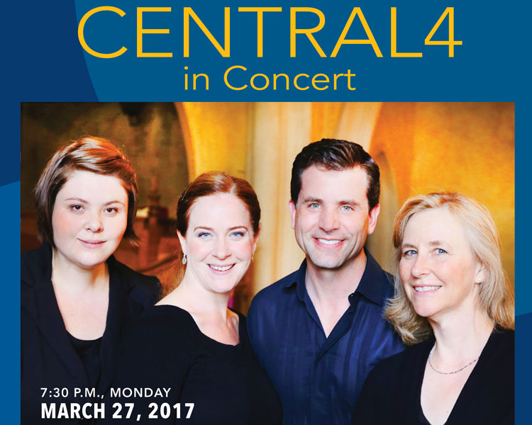 CENTRAL4 in Concert