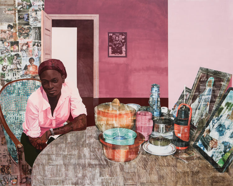 Art from Artist Njideka Akunyili Crosby