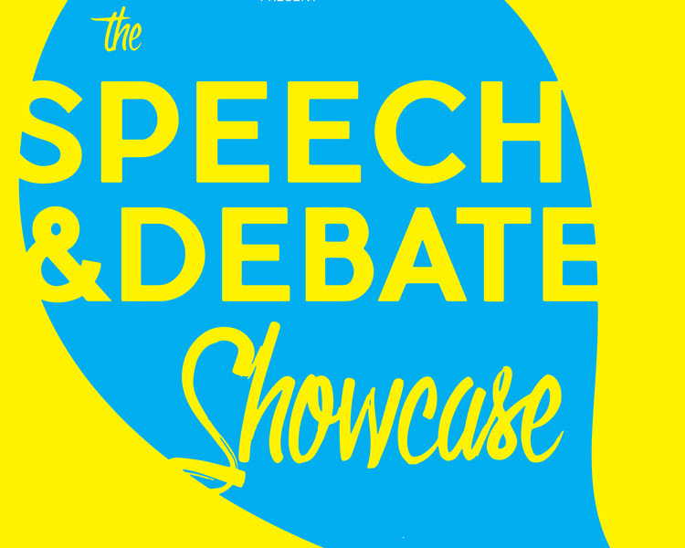 Spring Speech and Debate Showcase