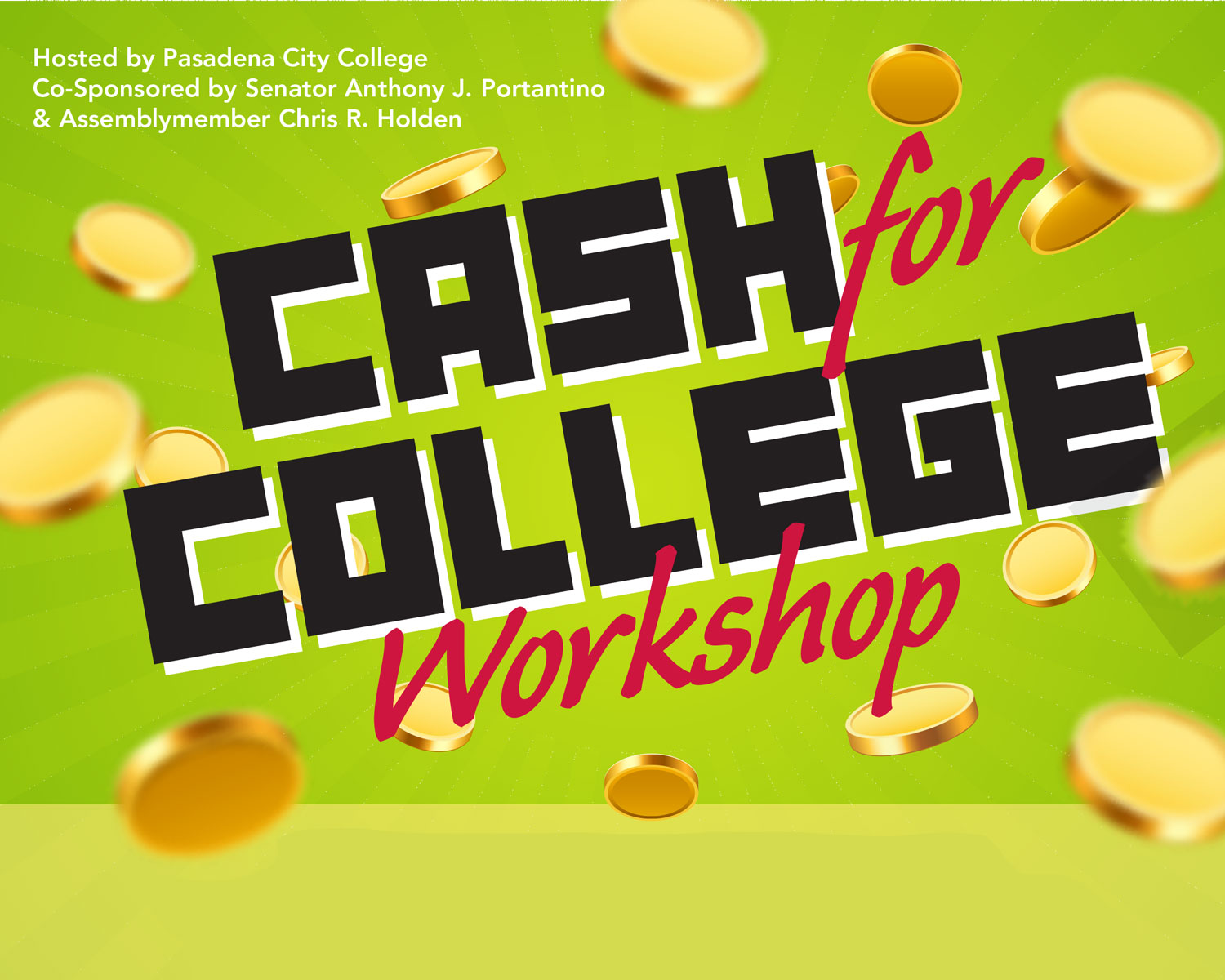 PCC Cash for College Event