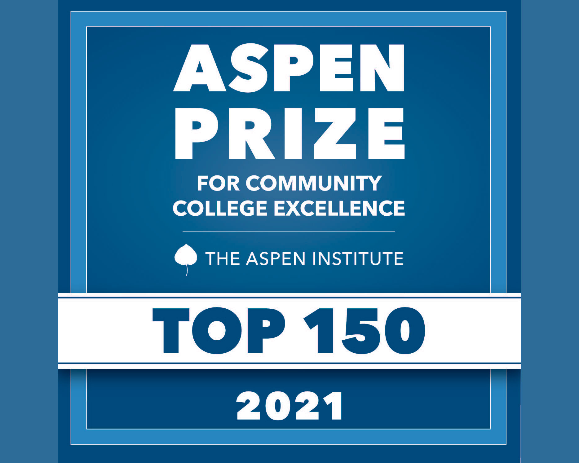 Aspen Institute Names PCC as a Top 150 U.S. Community College