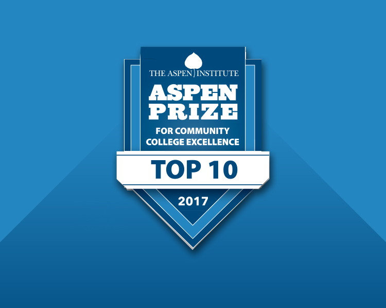 PCC Named An Aspen Prize Top 10 Community College