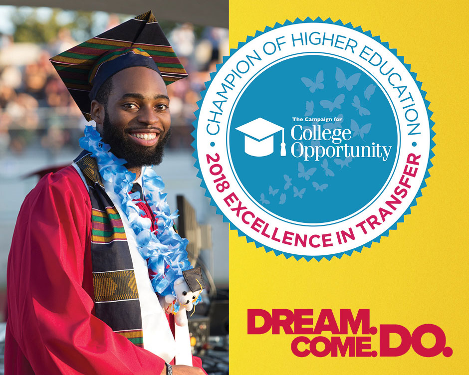 PCC is a 2018 Champion of Higher Education